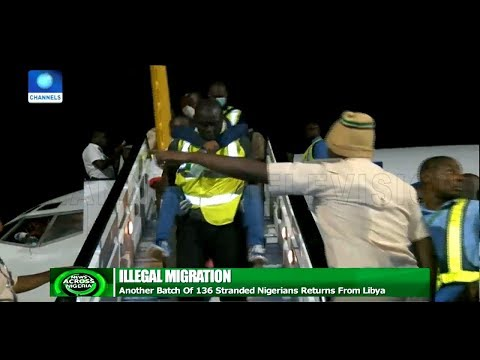 Another Batch Of 136 Nigerians Return From Libya