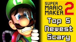 Super Mario Maker 2 Top 5 Newest SCARY Courses (Switch)