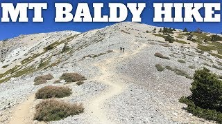Mt Baldy Hike Directions