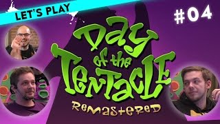 [4/9] Let's Play Maniac Mansion Day of the Tentacle mit Marco, Steffen und Gregor | 22.03.2016