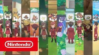 Pokémon: Let's Go, Pikachu! and Pokémon: Let's Go, Eevee! - Become a Master Trainer!