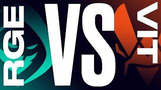 RGE vs. VIT - Week 8 Day 2 | LEC Summer Split | Rogue vs. Team Vitality (2021)