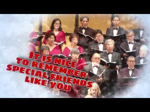 TORONTO KOREAN CANADIAN CHOIR Christmas Wishes Greetings Card
