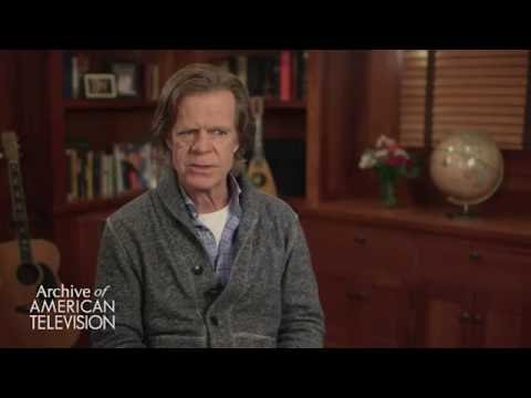 "William H. Macy on playing a sober ""Frank Gallagher"" on ""Shameless"""