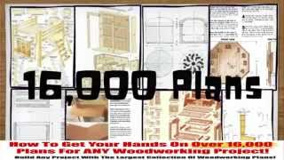 Woodworking Plans And Projects Realistiese Your 1600 Woodworking Projects With Plans