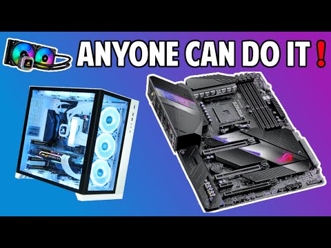 How Easy It Is To Build A Gaming PC With Newegg