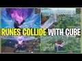 *NEW* Fortnite: RUNE EVENT TOMORROW EXPLAINED! *Runes Colliding With Cube* (Time & More)