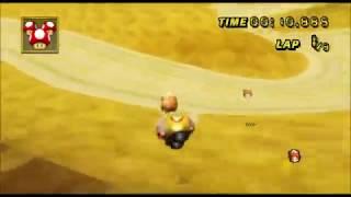 [Mario Kart Wii 300cc TAS] DS Desert Hills 44:346