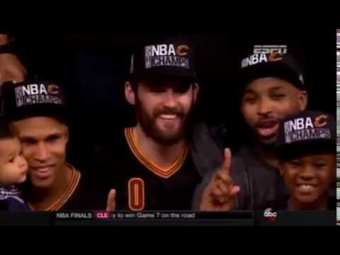 CLEVELAND CAVALIERS win Larry O