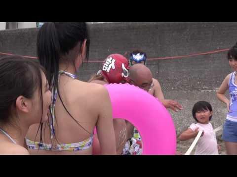 信州プロレス2016-07-18  海水浴場マッチ 午後の部