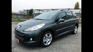 Автопарк Peugeot 207 2009 года (код товара 23263)