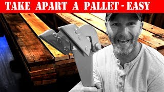 How To Take Apart A Pallet and Remove Nails (2 Easy Ways)
