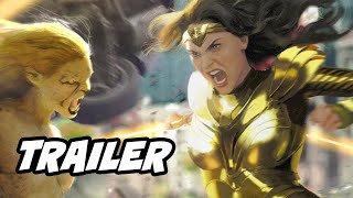 Wonder Woman 1984 Trailer   Justice League Snyder Cut Video And Cheetah Breakdown