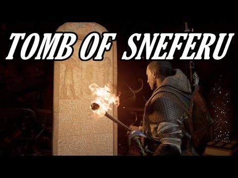 Assassin's Creed: Origins - Tomb of Sneferu (Ability Point)