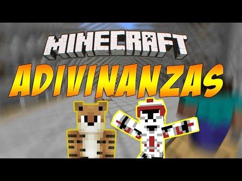 ★ ADIVINANDO PALABRAS EXTRAÑAS! - Minecraft Online Adivinanzas