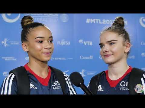 Georgia-Mae Fenton & Alice Kinsella (GBR) Interview - 2017 World Championships - Podium Training