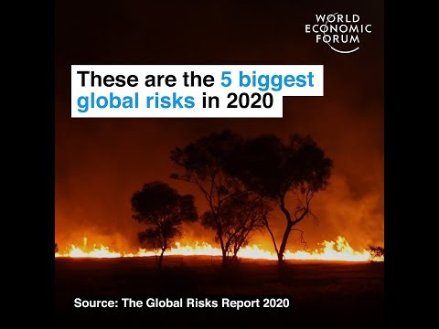 These are the 5 biggest global risks in 2020