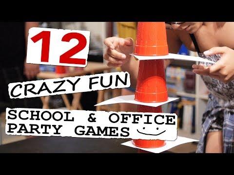 12 Crazy Fun School & Office Party Games