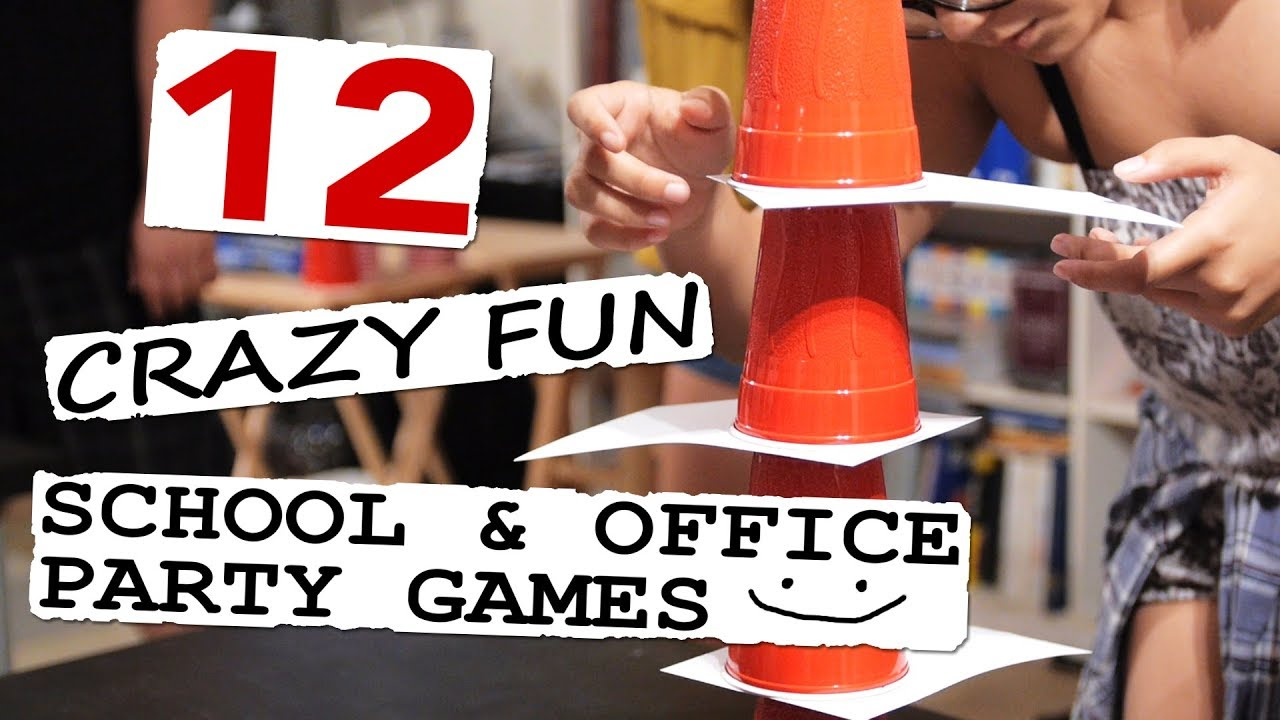 Crazy Fun School & Office Party Games