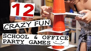 12 Crazy Fun School & Office Party Games