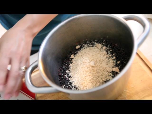 INRG TV   MEFood  Sesame Black Rice Preparation with Lisa Ralston 540p
