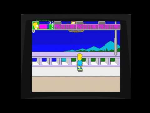 Simpsons Arcade (Xbox 360) Balloon Bonus Stage