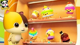 Baby Kitten Loves Cupcakes | Magical Vending Machine | Ice Creams, Candy Song | Baby Song | BabyBus