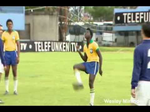 Filme que conta a vida do Rei Pelé está sendo gravado