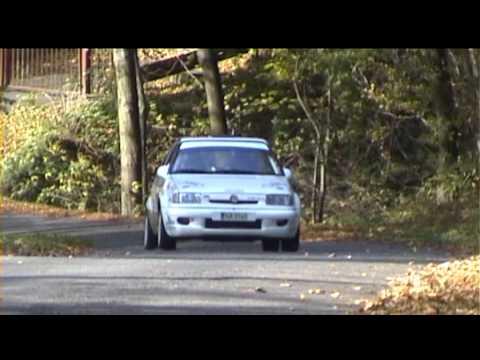 Martin Kouřil - Ivo Vybíral Rally Vsetín 2010 Škoda Felicia Kit Car 1400 Sestřih Posádky