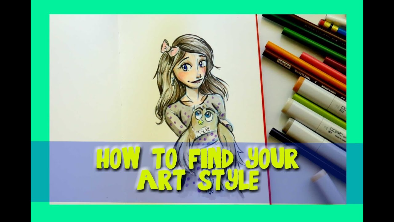how to find your own art style dramaticparrot youtube
