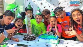 Zidane 11th حفلة عيد ميلاد الاطفال Heidi و Zidane