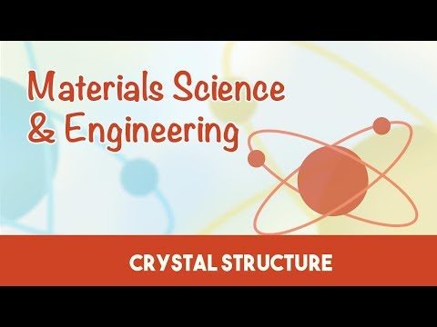 AMIE Exam Lectures-  Materials Science & Engineering | Crystal Structure  | 3.1