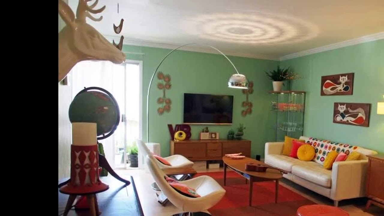 1950s Home Decor - YouTube
