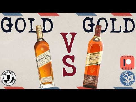 Johnnie Walker Gold Label VS Gold Label  Scotch Whisky Review: WhiskyWhistle 146