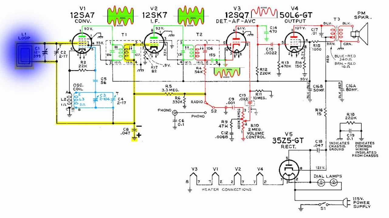Circuit Diagram Radio Receiver additionally Emerson 400 patriot main additionally 351453311045 together with  as well Literature. on all american five radio schematic