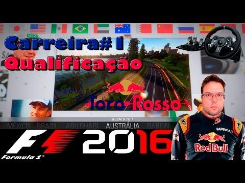 F1 2016 Carreira #1 - Toro Rosso - Qualificação do GP da Austrália