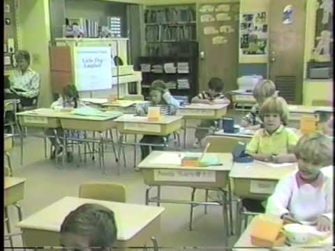 Day in the Life - Pine Beach Elementary School, 25 Years Ago - September 24th, 1987