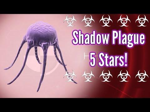 Plague inc Evolved| Shadow Plague - Mega Brutal 5 Stars!