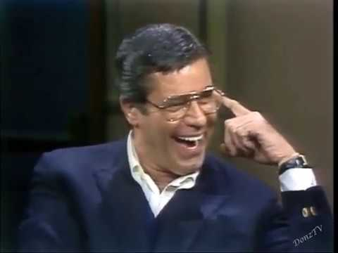 Jerry Lewis on Late Night, 1982, 1984