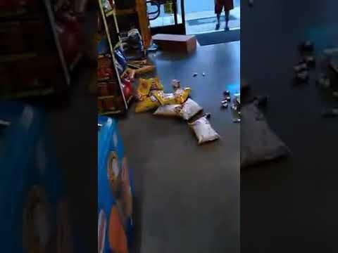 Kid has MAJOR meltdown inside Dollar General store!