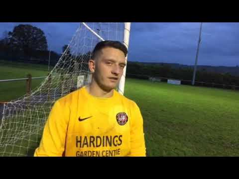 Andy Wycherley on loan at Guilsfield, following game v Holywell Town