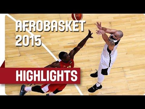 Angola v Mozambique - Game Highlights - Group B - AfroBasket 2015