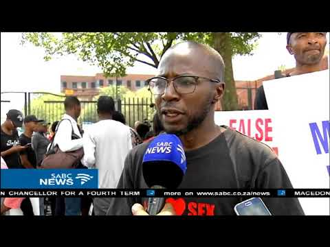 Civil society protests against false prophets