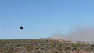 Mint 400 2009, Rusty Stevens TT #89 and helicopter overhead.