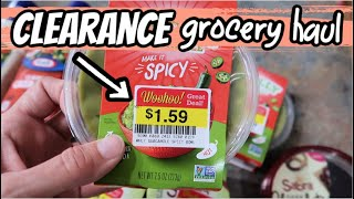 CLEARANCE GROCERY HAUL