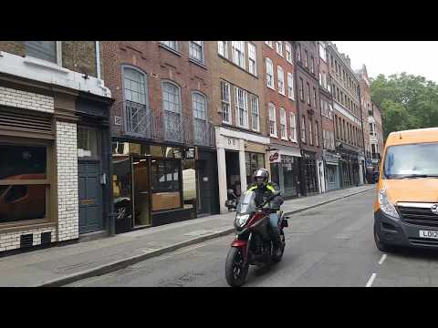 London Streets - GREEK STREET - W1 (Soho)