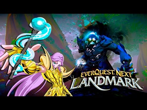 EverQuest Next Landmark: Beta! – Magia e Armaduras!!