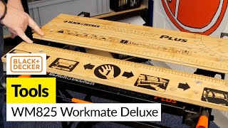 Black and Decker WM825 Workmate Deluxe