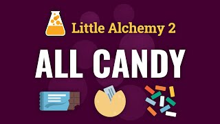 How to make AĻL CANDY in Little Alchemy 2