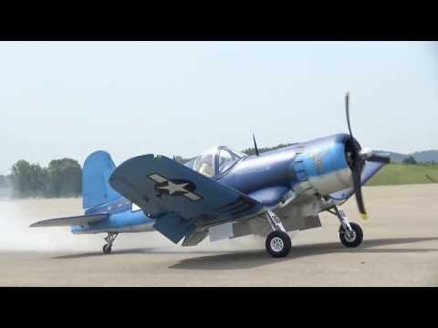 Rc Biggest F4U Corsair 1/3.5 scale Moki 400
